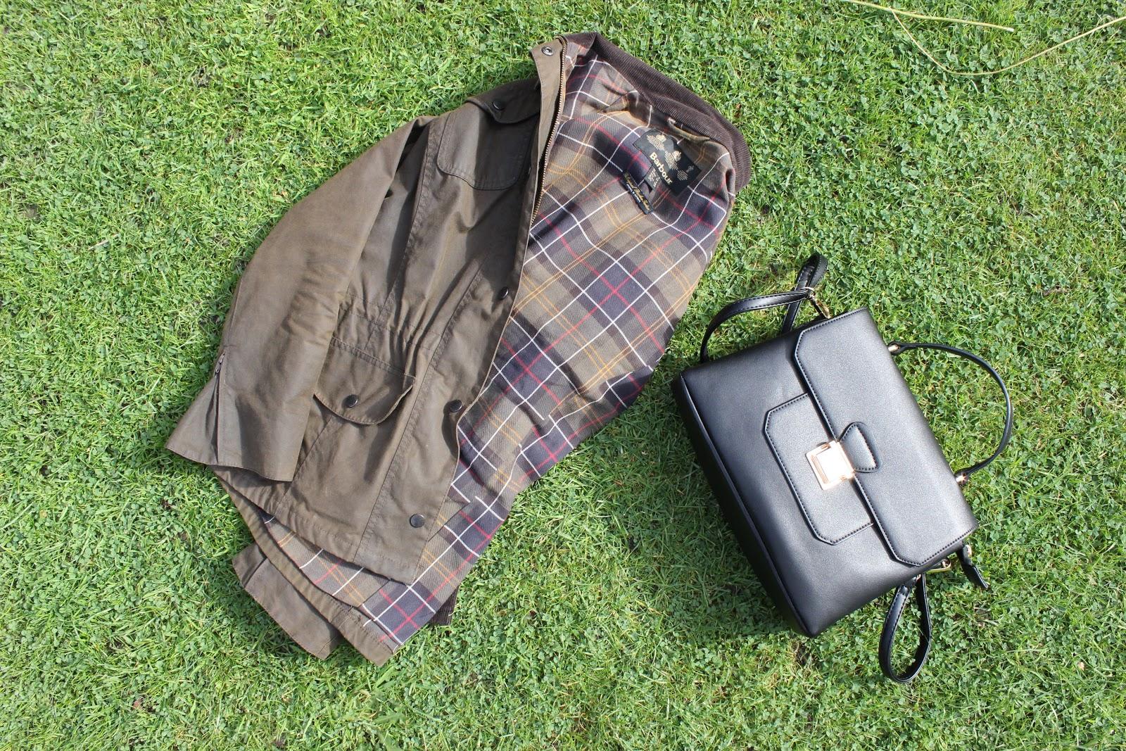 Black asos Tote Bag