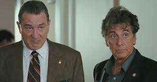 Al Pacino y Robert de Niro en una Buddy cop movie