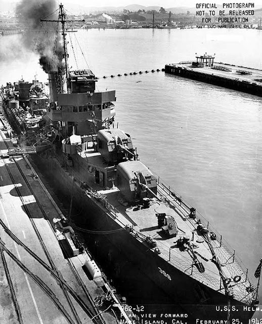 USS Helm at Mare Idland, 25 February 1942, worldwartwo.filminspector.com