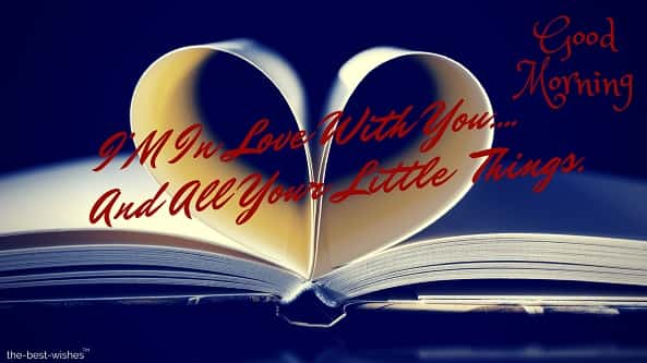 book pages heart for love