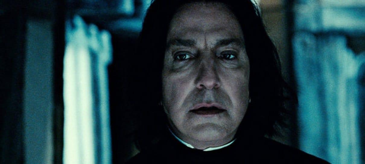 J.K. Rowling emociona a todos ao se lembrar de Alan Rickman, o eterno Professor Snape