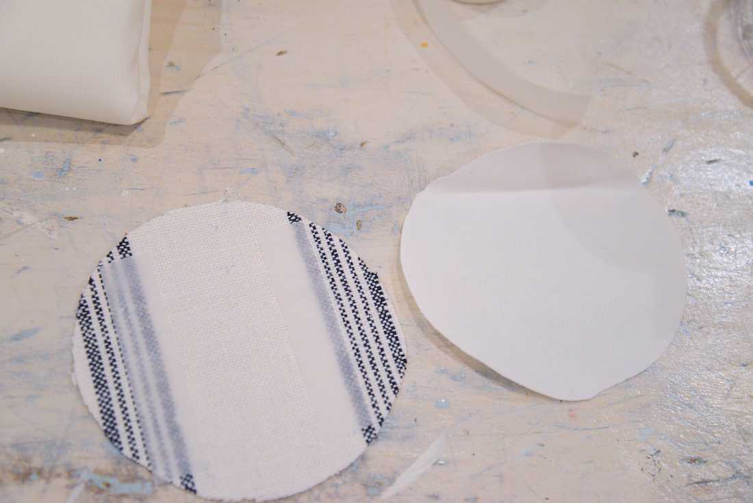 fabric coaster tutorial, handmade fabric coasters, custom coasters, nautical decor, beach decor