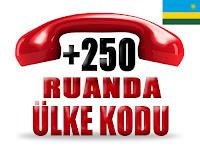 +250 Ruanda ülke telefon kodu