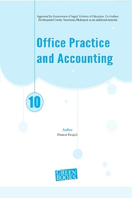 Class 10 Accountancy   Grade 10 Office Practice and Accounting