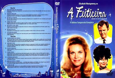 Série A Feiticeira 7º Temporada DVD Capa