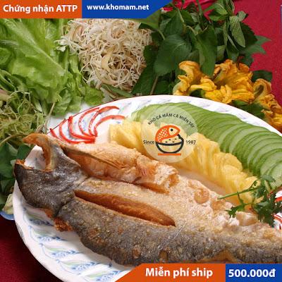 Khô cá tra phồng Châu Đốc