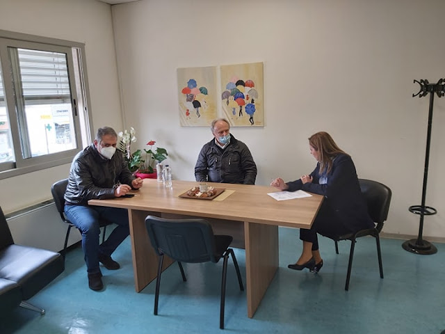 Ανδριανός με Χαρδαλιά και διοικητή 6ης ΥΠΕ στο Κρανίδι: «Οφείλουμε να ακούμε τους ειδικούς»