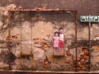 "<a href=""url gambar""><img alt=""street art penang malaysia mural ayunan"" src=""urlgambar"" title=""street art penang malaysia mural ayunan"" />"