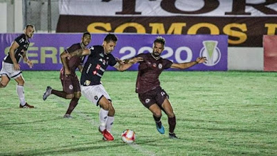 Jacuipense perde para o Remo na estreia da Série C