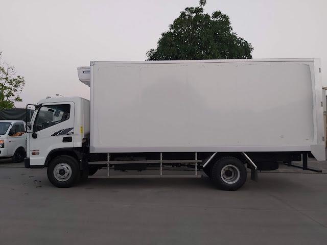 Xe tải Hyundai EX8 GTL thùng đông lạnh