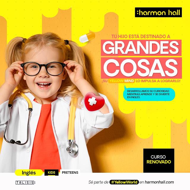 Harmon Hall renueva sus programas de inglés: Kids y Pre-teens
