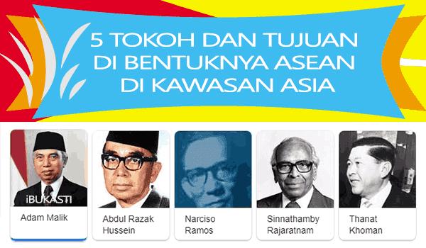 5 Tokoh Pendiri Dan Tujuan Dibentuknya ASEAN Dikawasan ASIA Tenggara