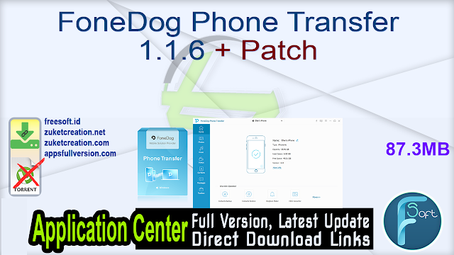 FoneDog Phone Transfer 1.1.6 + Patch