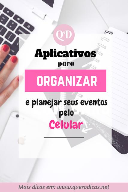 Aplicativos que ajudam a planejar e organizar o seu evento