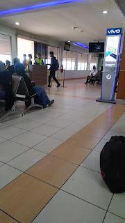 Bandara sudah rame