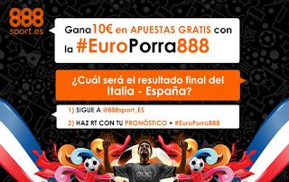 888sport europorra888 twitter Italia vs España 27 junio