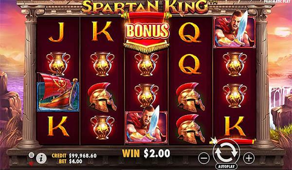 Main Gratis Slot Indonesia - Spartan King (Pragmatic Play)