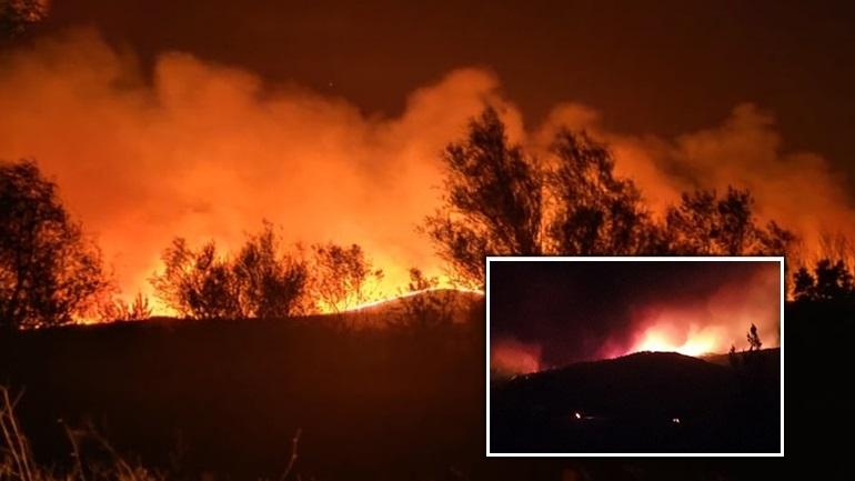 Ολονύχτια μάχη με τις φλόγες στον Έβρο