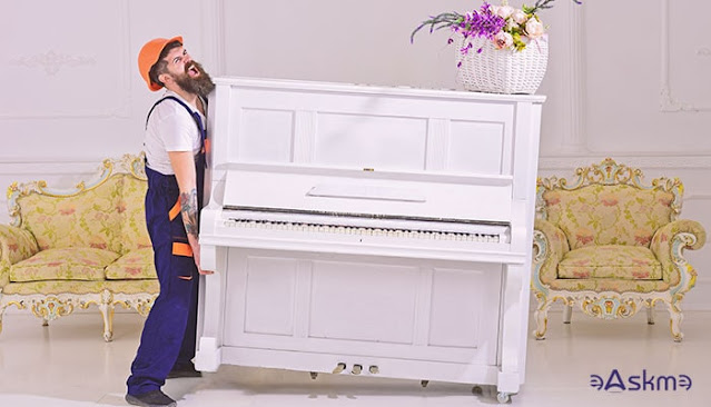 Moving Piano Without Professional Movers in the Bay Area: eAskme