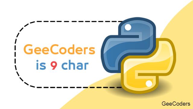 كود برنامج بلغة البايثون python لعد احرف الكلمة | Count the word letters using Python