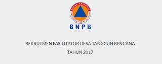 Lowongan Kerja Non PNS Terbaru Badan Nasional Penanggulangan Bencana RI Seluruh Indonesia