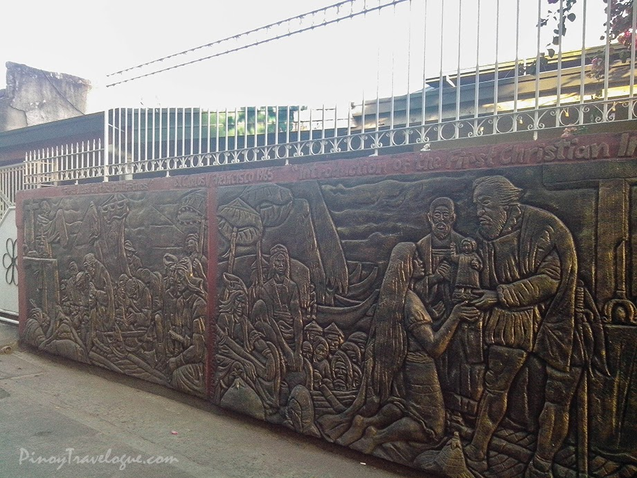 Introduction of the First Christian Image (mural by Gerry Bantang)