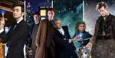 Recent Doctors in Christmas Special - photo from Metro.co.uk