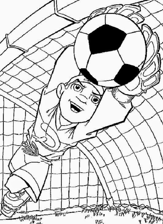 I Love Soccer Pages Coloring Pages