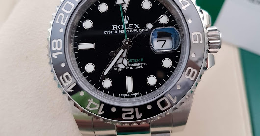[FOR SALE] PREOWNED ROLEX GMT MASTER II BLACK CERAMIC