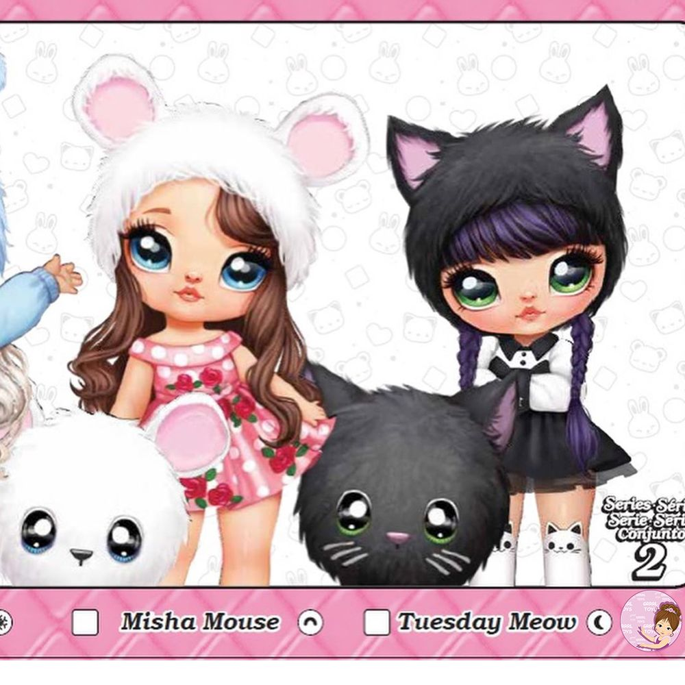 Plush 2-in-1 fashion dolls by MGA Entertainment NaNaNa Surprise
