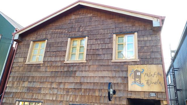 Casas de Castro, Isla Grande de Chiloé, Chile