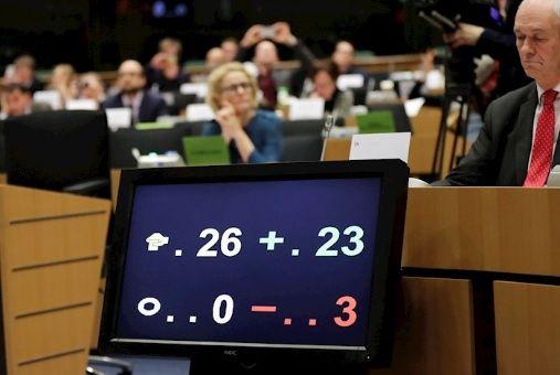 Comisión del Parlamento Europeo aprueba el acuerdo del brexit