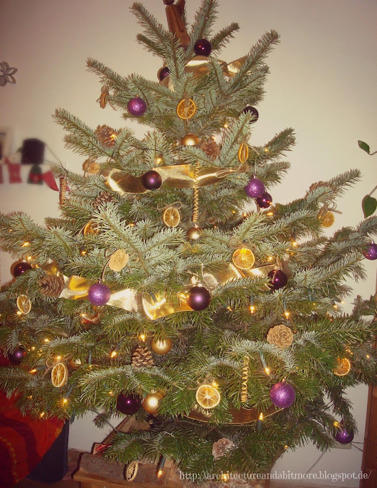 Purple and gold Christmas (2012)