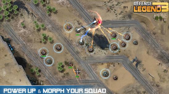 Download Defense Legend 3: Future War Mod Terbaru
