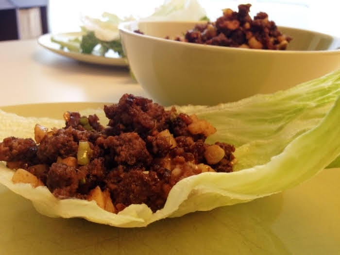 Rezept asiatische Salat Wraps