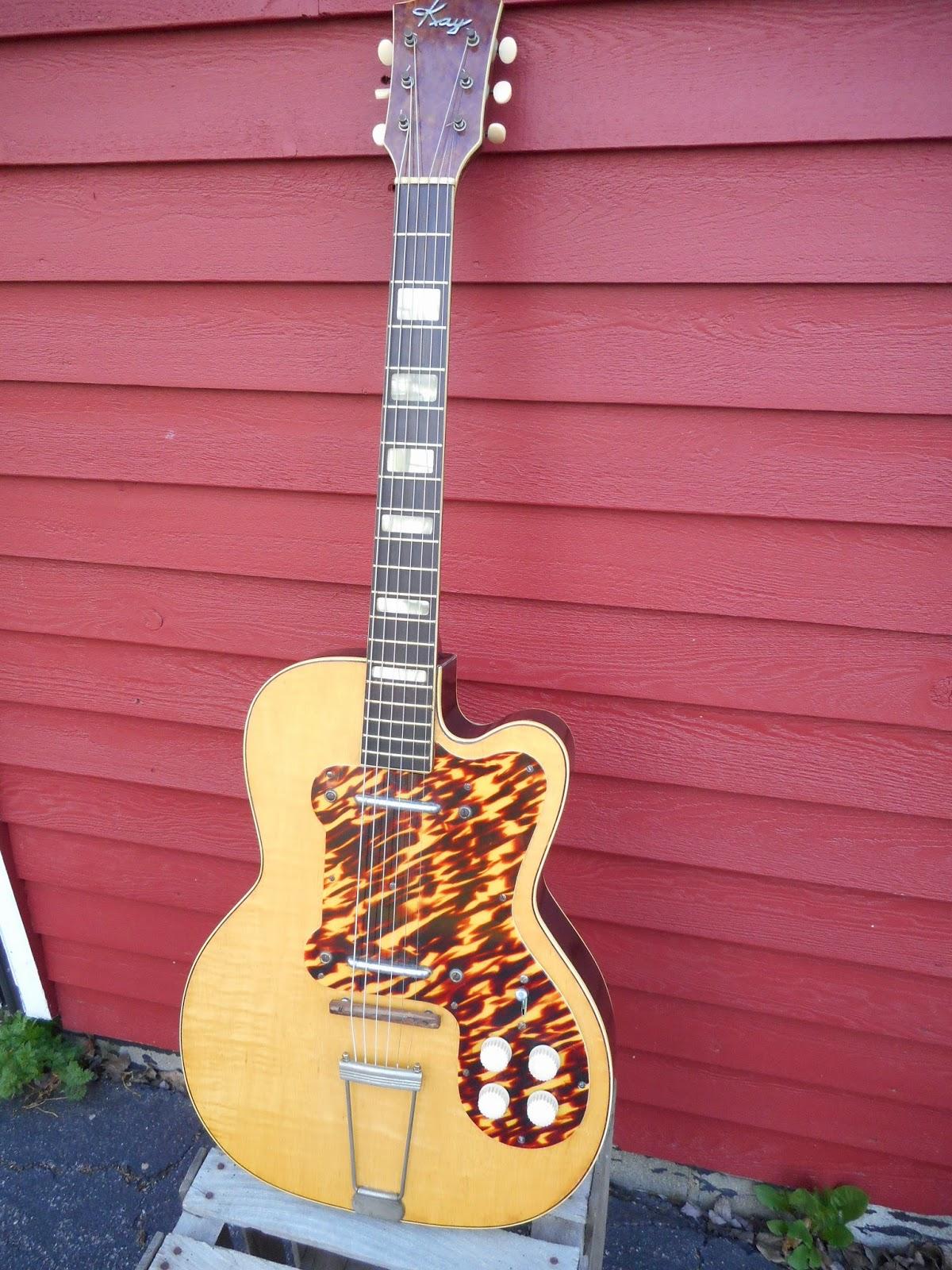 1950's Kay K161 Thin Twin Electric Guitar - AKA - Jimmy Reed