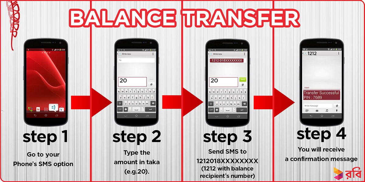 How To Balance Transfer Robi to Robi