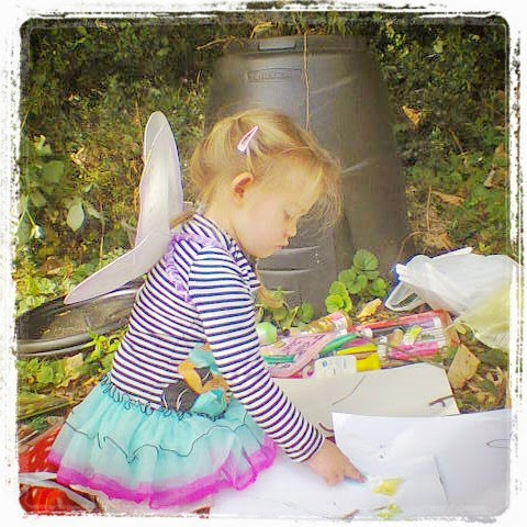 Getting Crafty with nature in the forest garden, prestwich