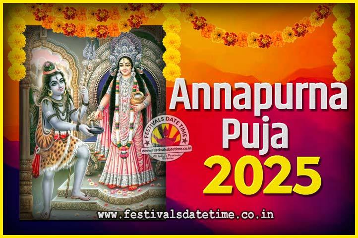 2025 Annapurna Puja Date and Time - 2025 अन्नपूर्णा पूजा तारीख और समय - 2025 অন্নপূর্ণা পূজা তারিখ ও সময়