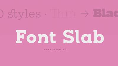 Font-Slab
