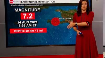 Quake kills hundreds in Haiti 7.2-magnitude earthquake Tropical Storm Grace approaches