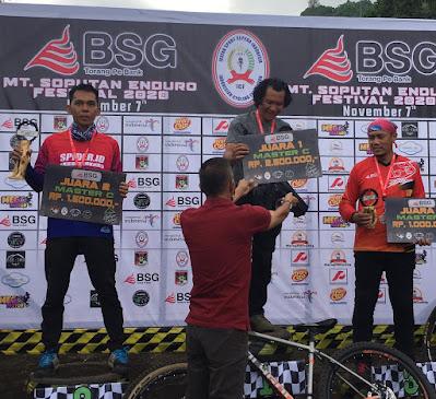 Pengurus ISSI Sulut Gelar Kejuaraan Sepeda Road Bike