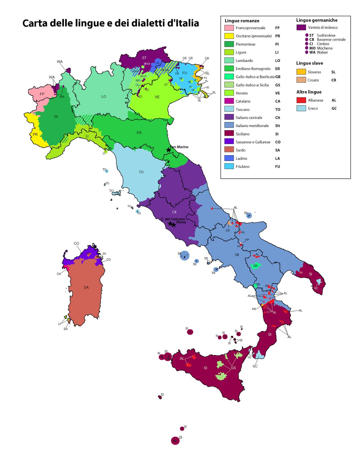 Isole linguistiche: un patrimonio da salvaguardare