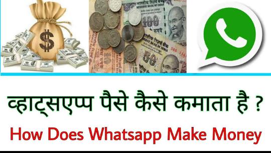 How does WhatsApp earns money (व्हाट्सप्प पैसा कैसे कमाता है?) - Pure Gyan