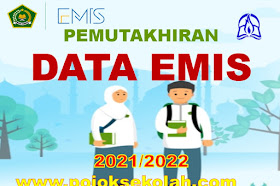 Pemutakhiran Data Emis Madrasah Semester 1 Tahun Ajaran 2021-2022