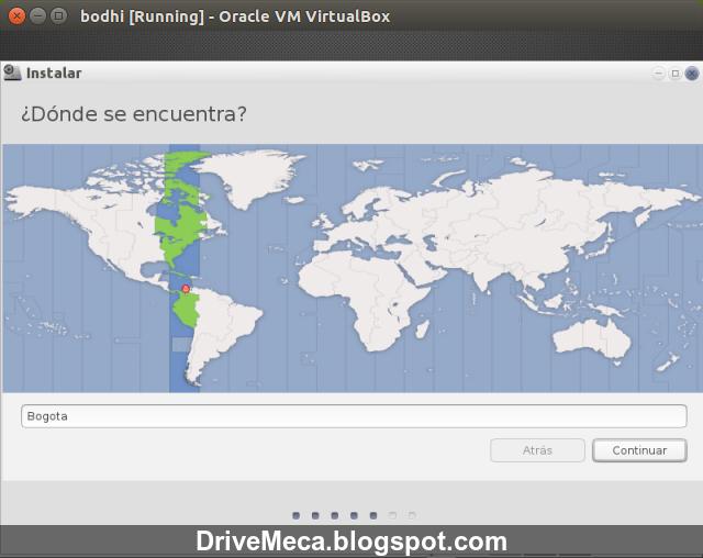 DriveMeca instalando Bodhi Linux paso a paso
