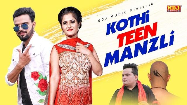 Kothi Teen Manjili Lyrics - Raju Punjabi & Beat Boy