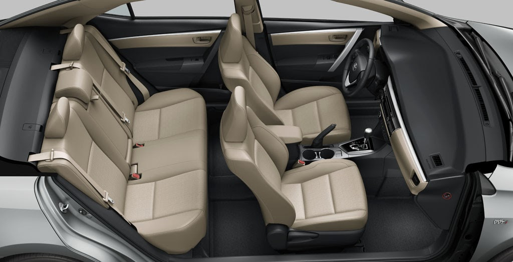 Updated this is the 2014 toyota corolla altis w video - 2014 toyota corolla interior features ...