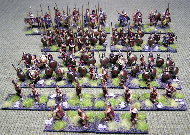 Espartanos de Xyston Miniatures