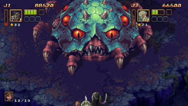 Battle Axe para Switch - vs. jefe